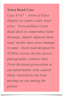Town Road Case