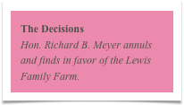 The Decisions
